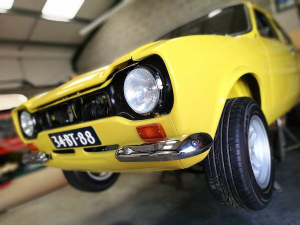 Ford Escort Classic Restorations Wales The Escort Agency