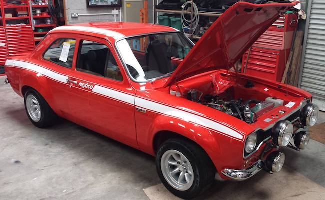 The Escort Agency Ford Escort Restorations Current Projects